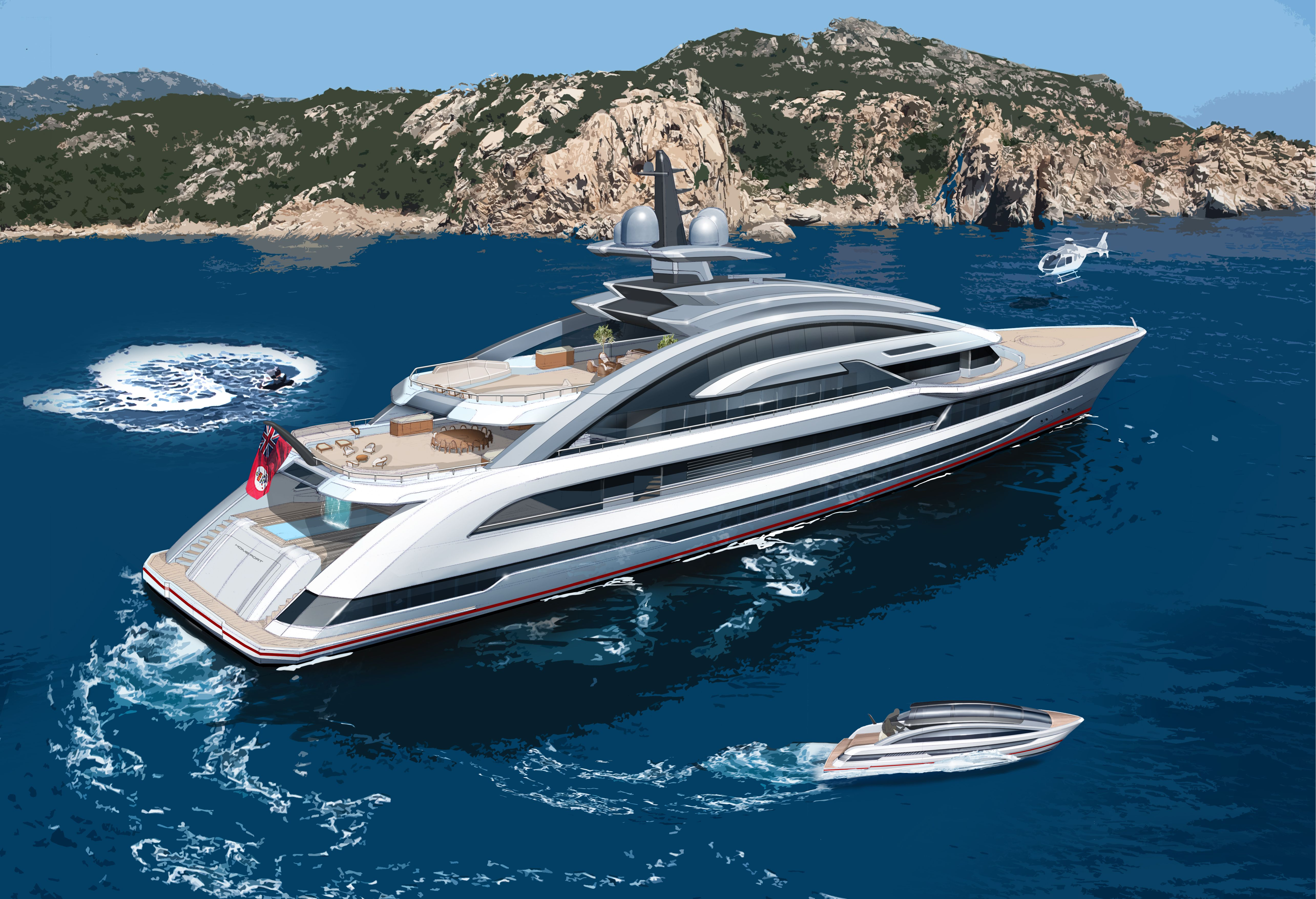 A PROJECT OF COSMIC PROPORTIONS HEESEN BUILDING LARGEST, FASTEST FULL-ALUMINIUM YACHT IN THE WORLD