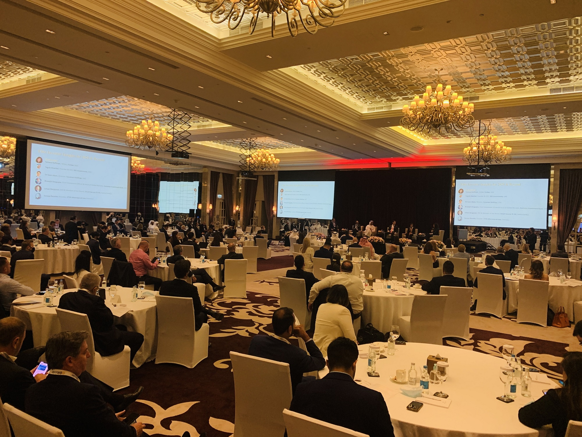 Sir Anthony Ritossa's 12th Global Family Office Investment Summit Kicks Off in Dubai