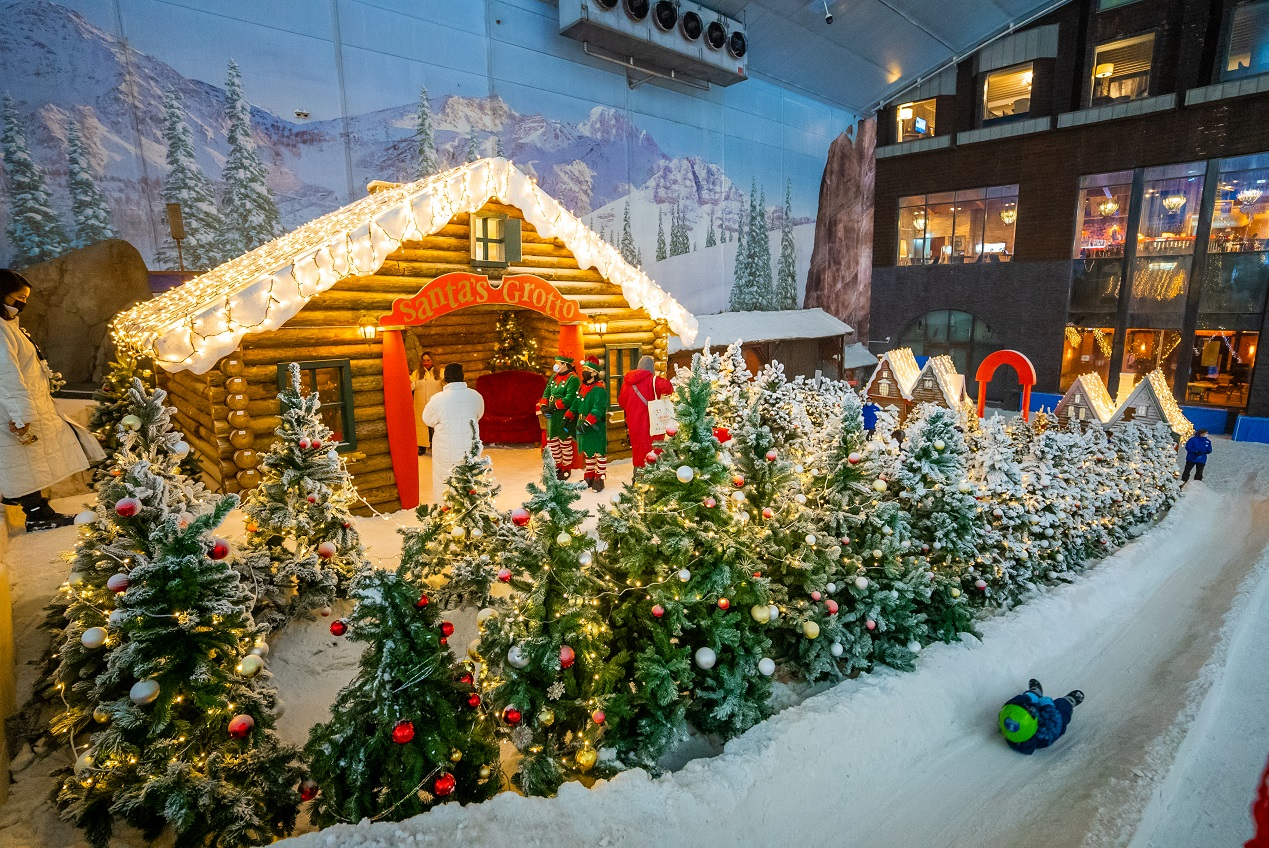 Ski Dubai transforms into Winter Wonderland for festive season