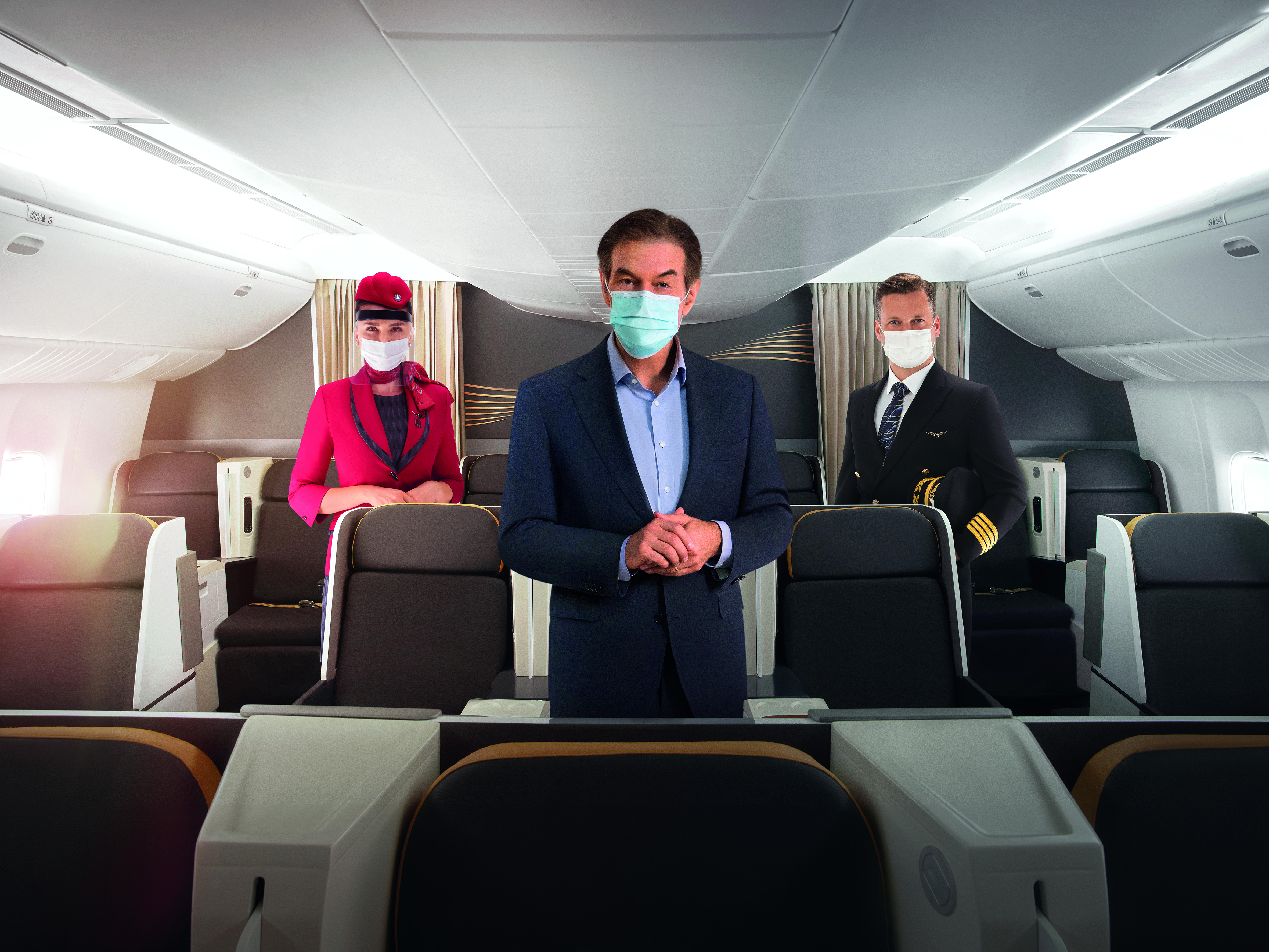 "Hygiene programme ""TK Extra Care"" launched by Turkish Airlines in collaboration with Dr. Oz"