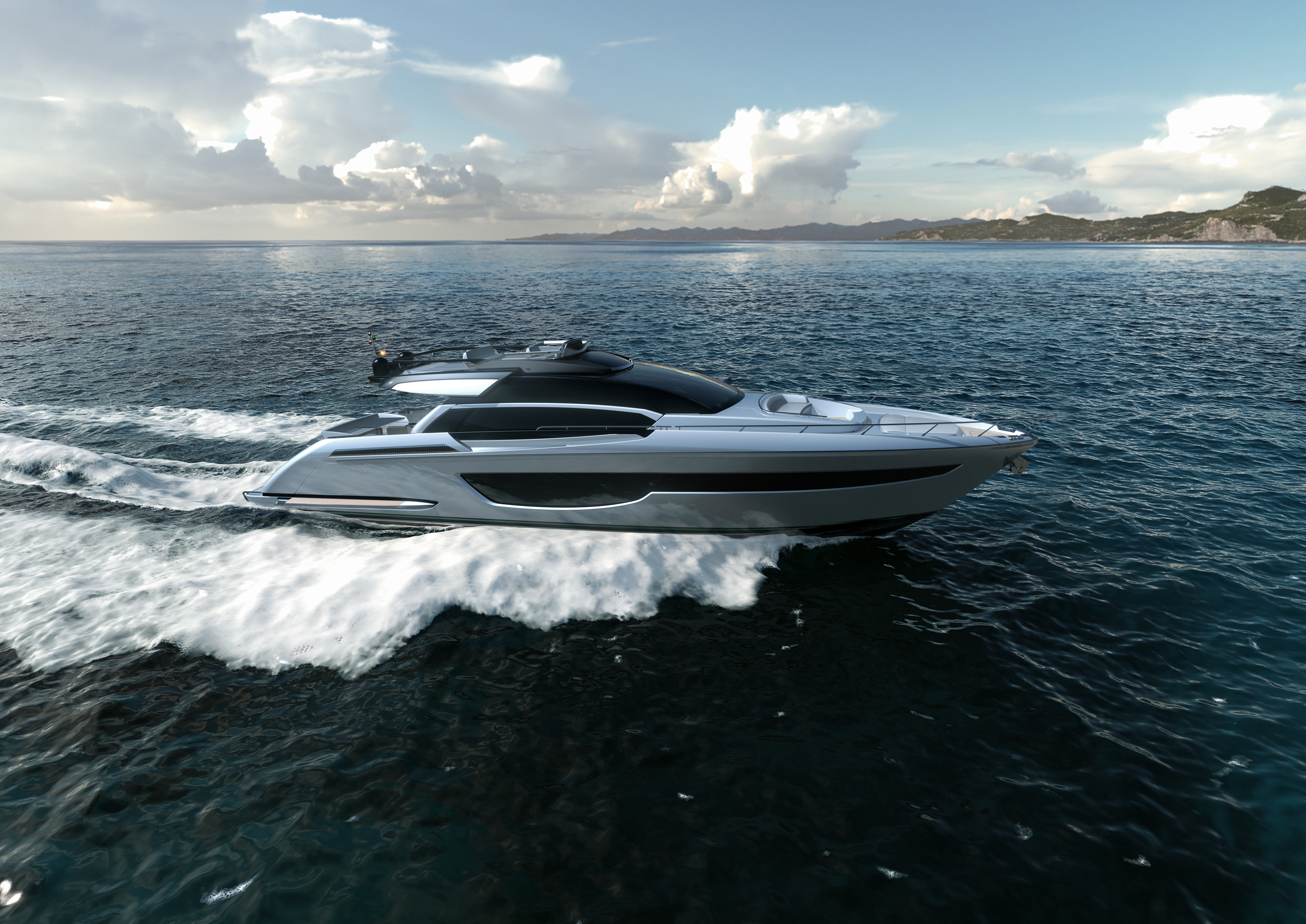 Riva 76' Perseo Super: The best-loved sport-fly  becomes  even more desirable