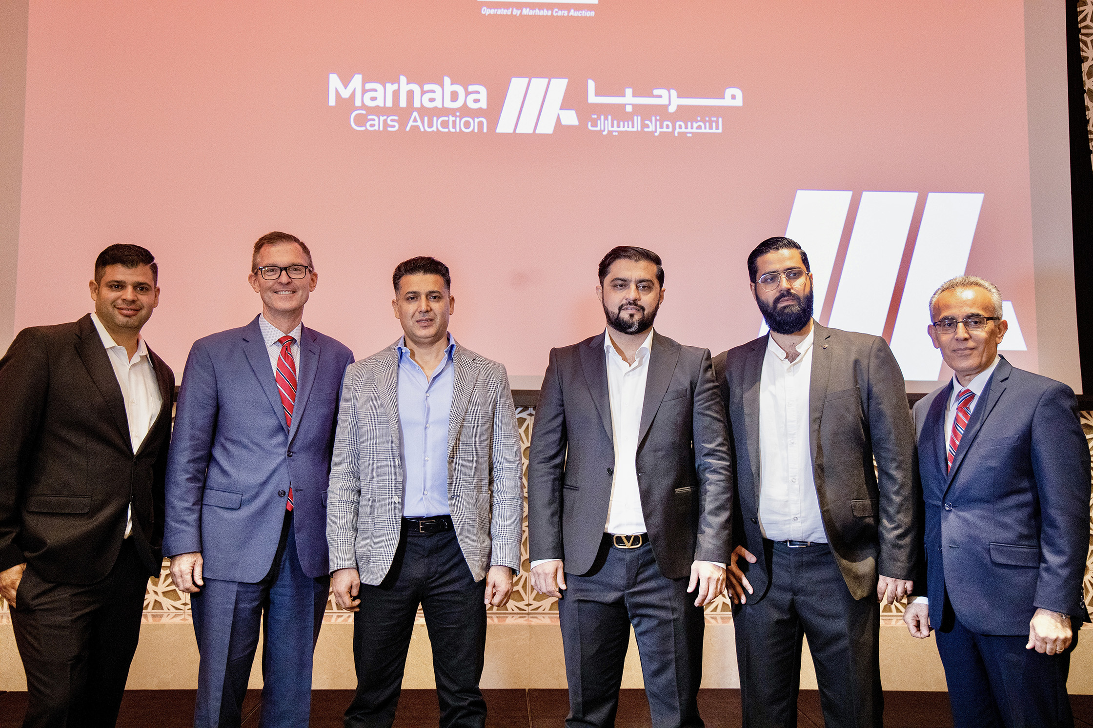 Marhaba Cars Auction is now IAA's official partner in the UAE & Opens Tasjeel Testing Center in the Auction