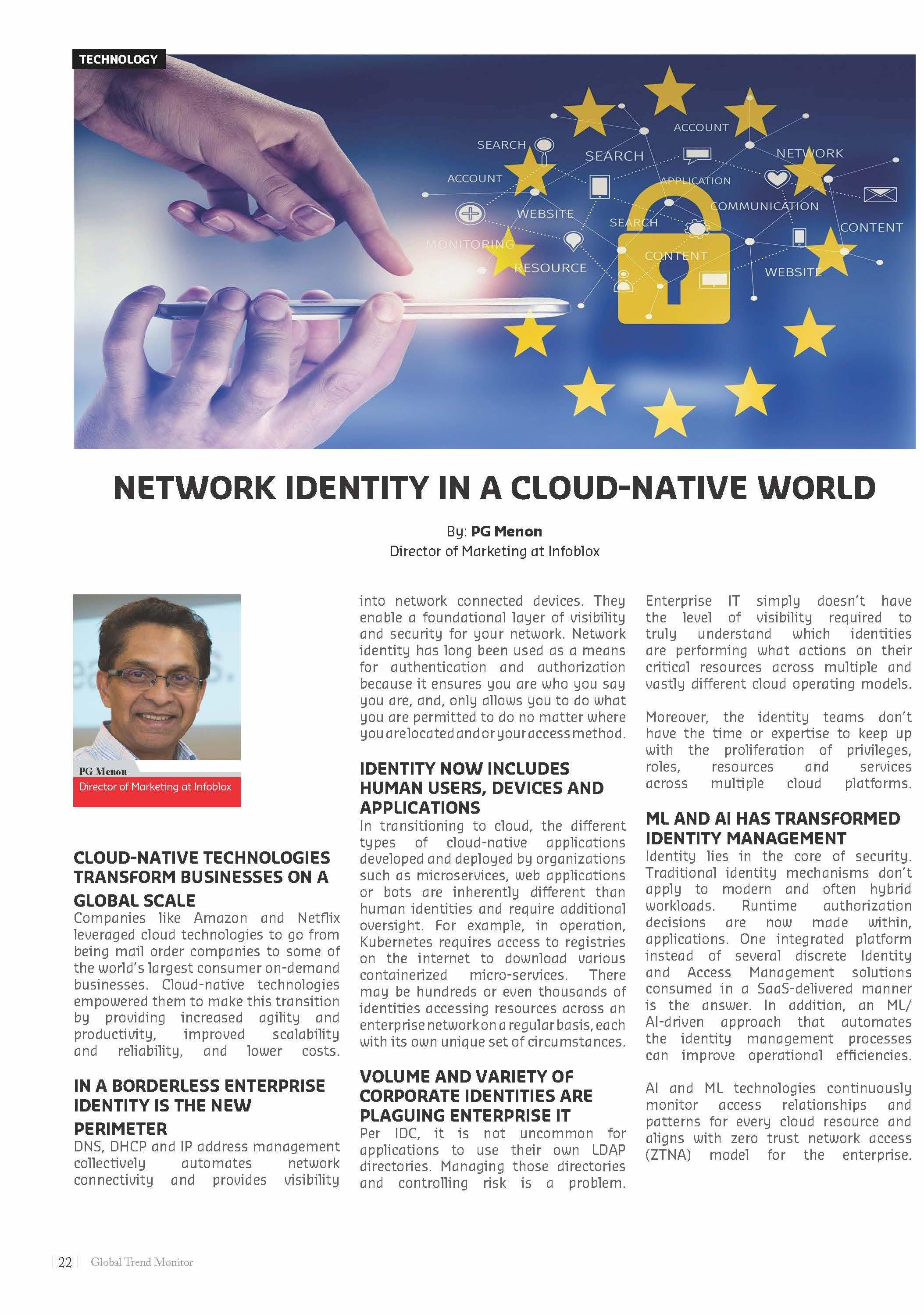 Network Identity in a Cloud-native World