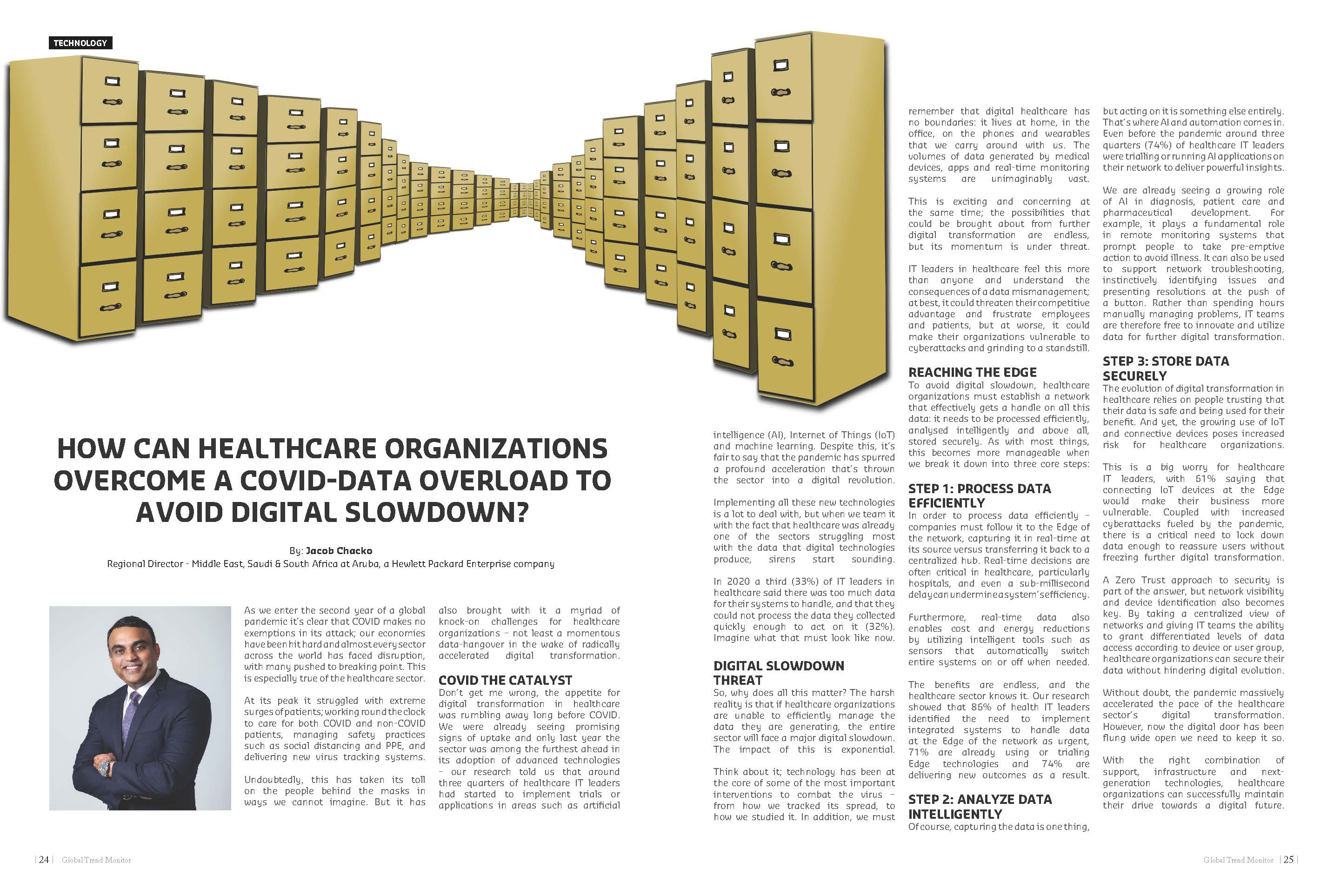 How can Healthcare Organizations Overcome a COVID-Data-Overload to Avoid Digital Slowdown?